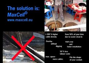 MaxCell vs Plastic Duct
